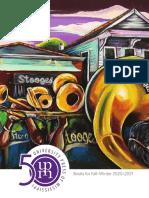 University Press of Mississippi Fall-Winter 2020 - 2021 Catalog of Books