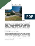 Uso de la energía nuclear en Chile