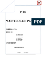 POES CONTROL DE PLAGAS GRUPO I