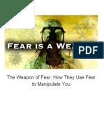 fear weapon