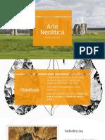 Arte Pré-histórica - Neolítico