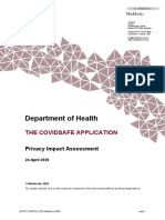 Covidsafe Application Privacy Impact Assessment