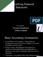 Demystifying Financial Statements 22 Jul 2002