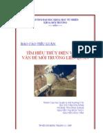 Tiểu luận về thủy điện và môi trường