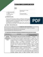 Programación Cosmetología - PRIMER AÑO - BIMESTRAL
