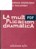 98486602 La Multiplicacion Dramatica Pavlovsky