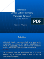 Indonesian Limited Liab Com