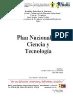 Plan Nacional de Ciencia y Tecnologia