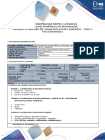Guía para el desarrollo del componente práctico  - Fisica electronica