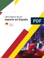 Libro Blanco de los Esports en España