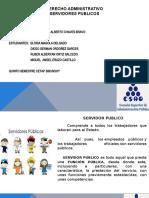 DERECHO ADMINISTRATIVO  SERVIDORES PUBLICOS