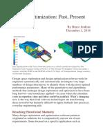 Design Optimization_past, present, and future