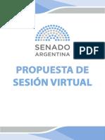 SESIÓN VIRTUAL Y CUESTIONES PREVIAS.