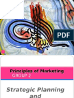Principles of Marketing Chapter 2 (Strategic Planning