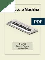 RM-20 User Manual