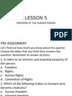 LESSON 5 PRESENTATION
