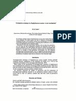 Resistance to Gentamicin
