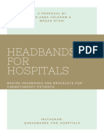 headbands for hospitals proposal