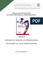 Desarrollo Organizacional U2