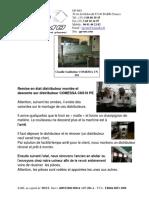 003_Renovation distributeur CN310 COMESSA