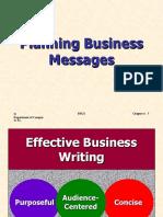 BusCom04 Planning Business Messages