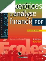 Exercice Danalyse Financiere 5 Eme Edition