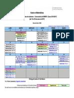 Exámenes Grado Matemáticas 2016-2017