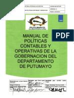Manual de Políticas Contables y Operativas de La Gobernación del Departamento de Putumayo (1)
