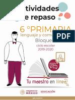 Espanol 6 Primaria Bloque-IV