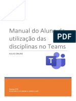 Manual do aluno Teams
