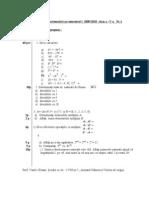 Mate.info.Ro.842 Model Teza Clasa a v A