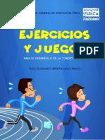 JUEGOS Y EJERCICIOS PARA LA CONDICION FISICA DEL HOMBRE