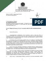 Resposta do Exército sobre portarias de rastreabilidade de armas e munições