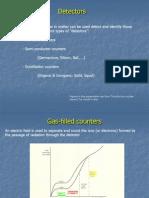 Basic Nuclear Detectors