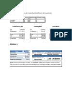 Ejemplos  Costos y Gastos / Planeación de Utilidades