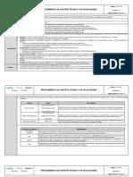 TIC-PR-02 Procedimiento de Soporte Técnico y de aplicaciones