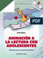 Animación a la lectura con adolescentes - Isabel Agüera Espejo-Saavedra