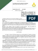 PL de Jorge Vianna prevê adição de até 30%, aos servidores de Saúde, sob regime de TPD