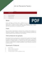 Especialización en Revisoría Fiscal y Auditoría