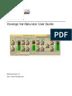 VariSaturator User Guide EN