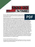 TAL Flanger Dokument