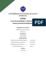 Seminario #1 Regulador de Turbina Analisís 2