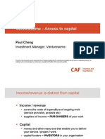 Venturesome - Access to Capital 0911