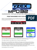 Preset Management With Vyzex MPD32