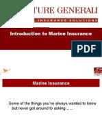 Marine Product Presentation