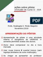 2018_2 Poster TCC orientações