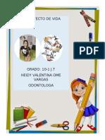 PROYECTO DE VIDA HEIDY