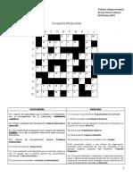 Crucigrama respuestas