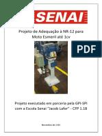 Projeto de Adequação para Moto Esmeril