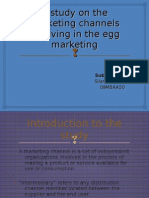 A Study on the Marketing Channels Involving in (2)